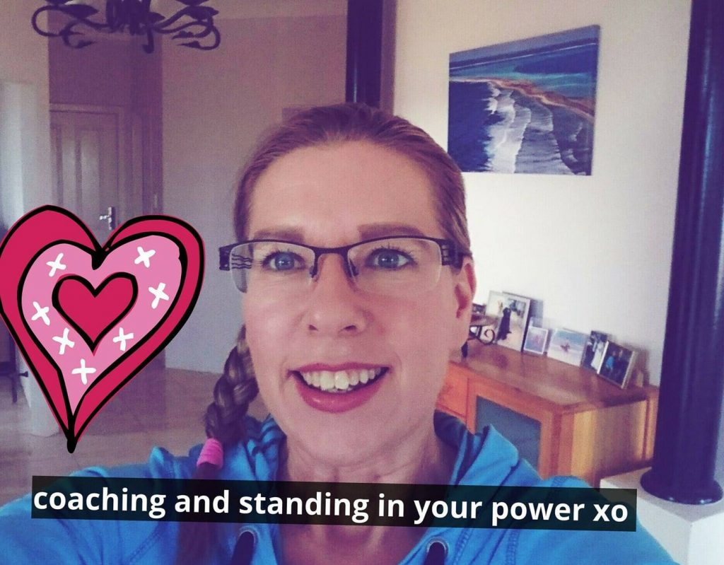 Coaching and Standing in your power